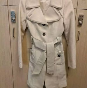 Off-white Wool and Cashmere coat